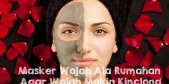Masker Wajah Ala Rumahan Agar Wajah Makin Kinclong